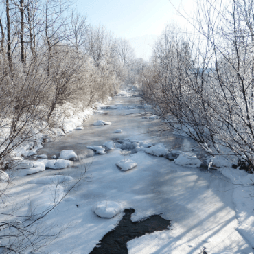 Frozen River Image