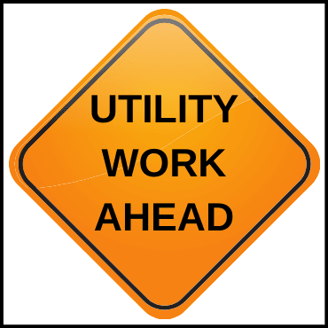 Utility Work Ahead Image