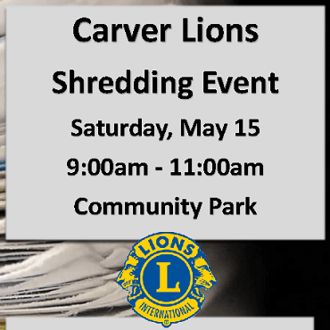 Shred-It Event 2021 flyer